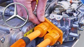 Mercedes Hydrogen Engine Factory. YouCar Car Reviews.