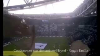 22/01/2017 - Campionato di Serie A - Juventus-Lazio 2-0, +39 (Comitato per non dimenticare Heysel - Reggio Emilia)