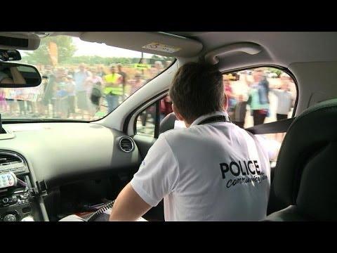 Tour de France de la police, entre promotion et sécurité