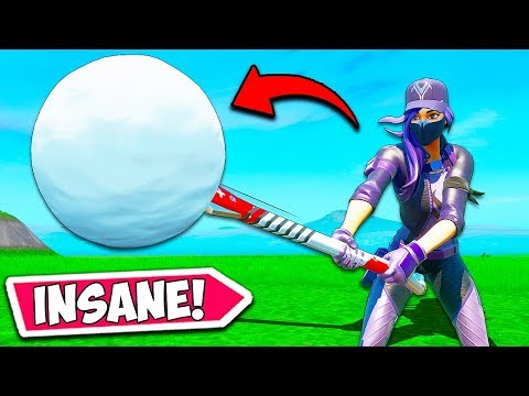 *NEW* SNOWBALL PICKAXE IS BROKEN!! - Fortnite Funny Fails and WTF Moments! #798