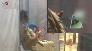 CI Caught Watching Blue Film At Kanaka Durga Temple