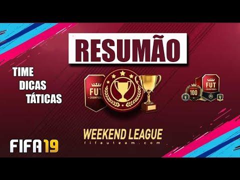 RESUMO DA WEEKEND LEAGUE - FUT CHAMPIONS | FIFA 19 ULTIMATE TEAM