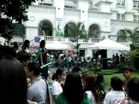 DLSU Animo Squad Drum Practice