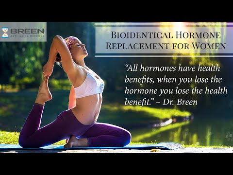 Dr. Sean Breen: Bioidentical Hormone Replacement for Women, Orange County