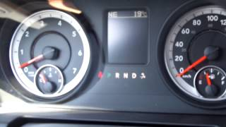 Quick Look At My New Rental 2013 Ram 1500 SLT 4x4 3.6L