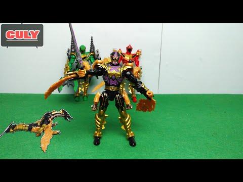 Siêu nhân phép thuật rồng đen hắc long - Power Rangers Mystic Force black fury dragon toy for kid