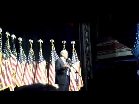 Ron Paul at Webster Hall Event in NYC September 26th, 2011 Part 1 of 2