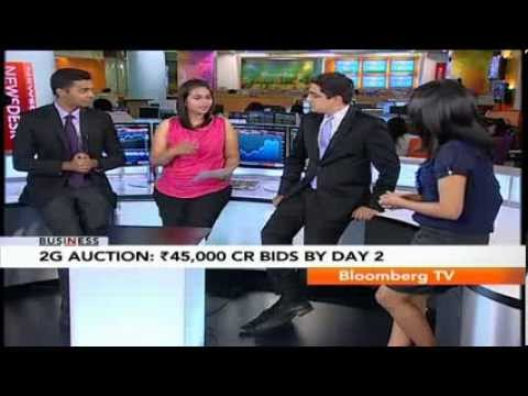 In Business- 2G Auction: Rs.45,000 Cr Bids By Day 2