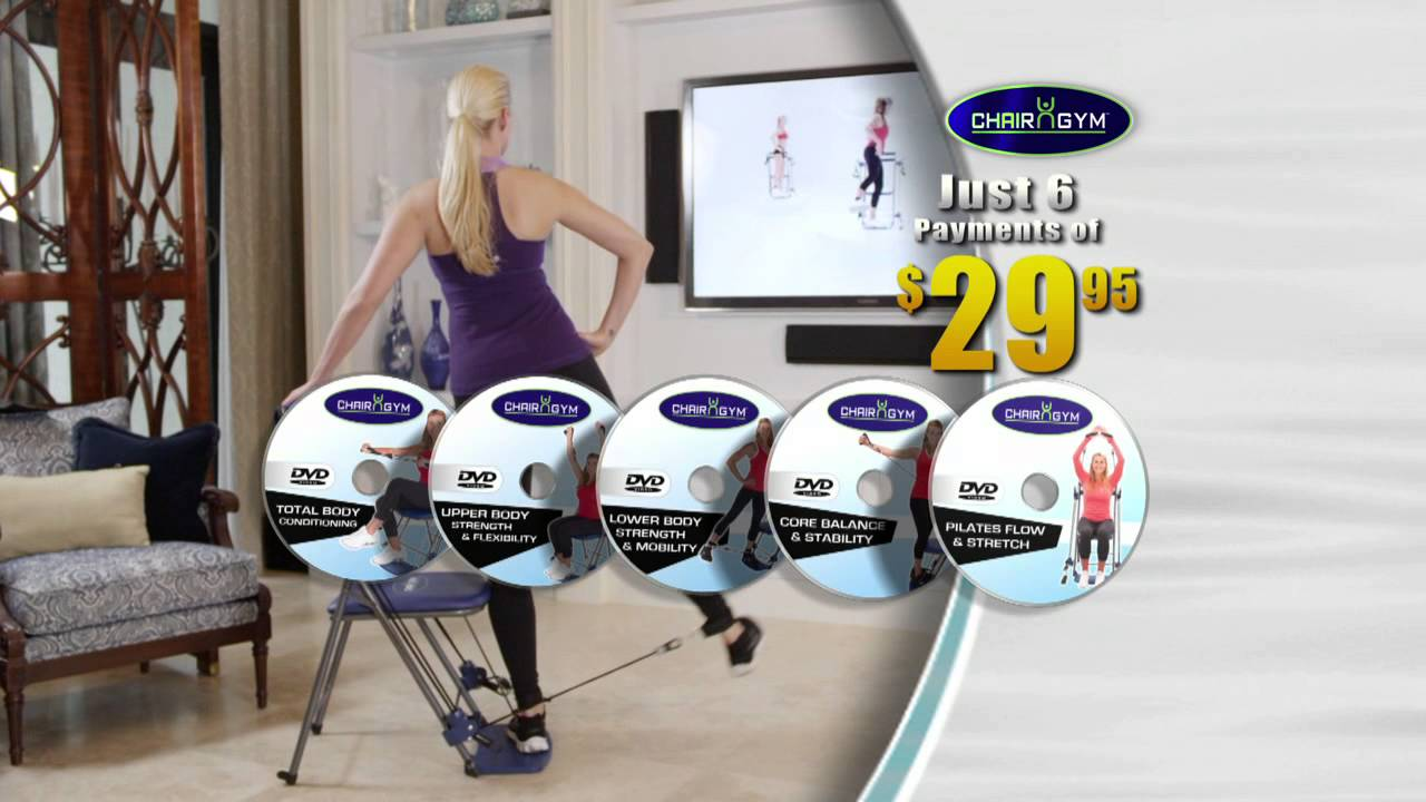 Chair gym infomercial youtube