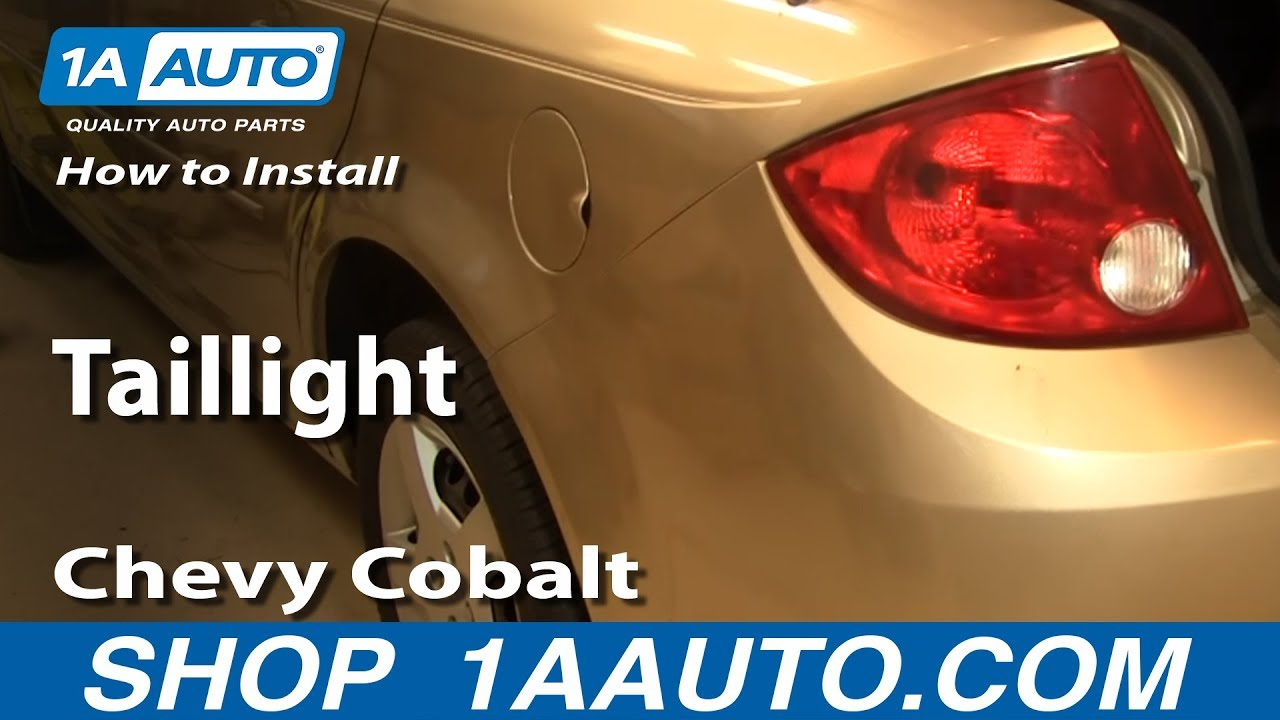 How To Install Replace Taillight Chevy Cobalt 05-10 1aauto Com
