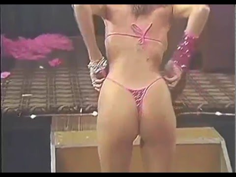 Old School Thong Contest