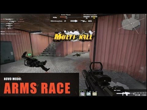 Arms Race - Novo Modo Combat Arms BR