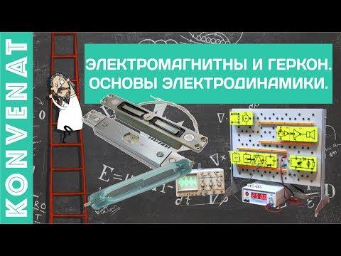 Электромагниты и герконы Элементы динамики