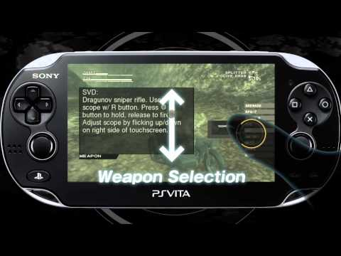 METAL GEAR SOLID HD COLLECTION VITA Trailer