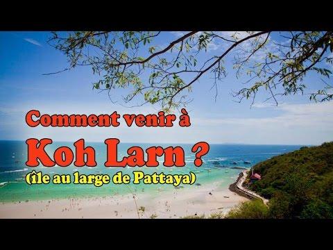 pattaya: comment aller sur l'île de koh larn ?