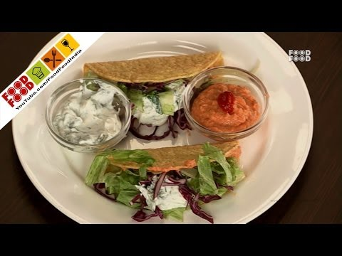 Hummus with Tzatziki Dip | Food Food India - Fat To Fit | Healthy Recipes