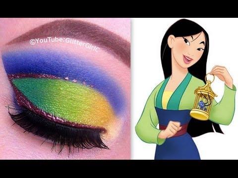 Princess Mulan Makeup Tutorial