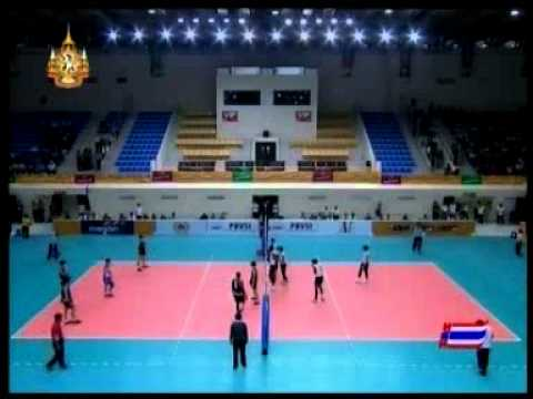 Thailand Vs Malaysia 2011 Sea games Men's volleyball - Set 1