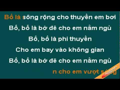 Bo La Tat Ca Karaoke - Xuan Mai - CaoCuongPro