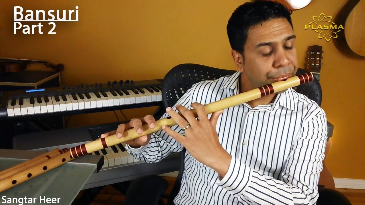 Learn to Play Bansuri - Part 2 - Holding and Producing Sound