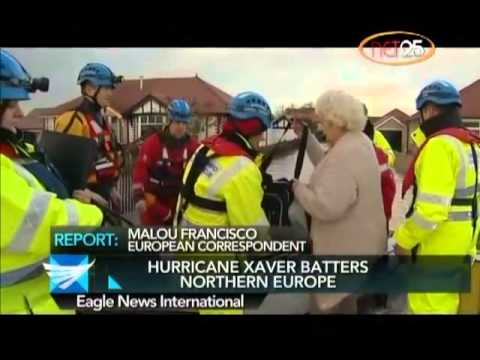 Hurricane Xaver batters N  Europe  Malou Francisco reports from The Netherlands