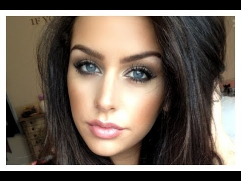 Neutral Makeup Look: Winged Liner (Fishtail Braid Makeup look)