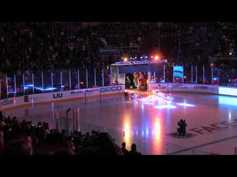 New York Islanders 2013-14 Home Game Season Opener vs Columbus Blue Jackets