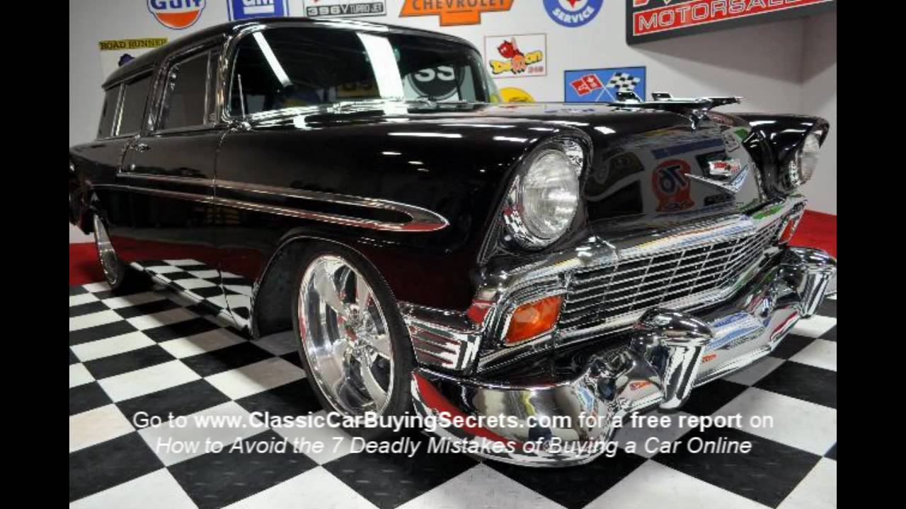 1956 Chevy Nomad V8 Classic Muscle Car For Sale In Mi