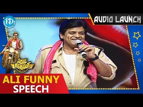 Comedian-Ali-Funny-Speech---Sardaar-Gabbar-Singh-Audio-Launch