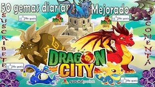 Dragon City 50 Gemas Diarias (mejorado)