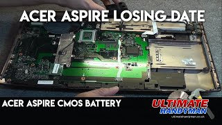 Acer Aspire strip down and rebuild