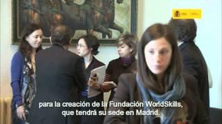 Pieza informativa sobre la presentación a la prensa de SpainSkills 2011 (2011)