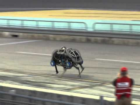 Darpa Robotics Challenge 2013: Boston Dynamic WildCat