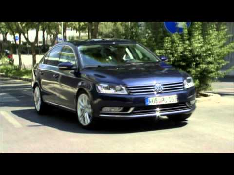 New 2012 Volkswagen Passat  Sedan Driving