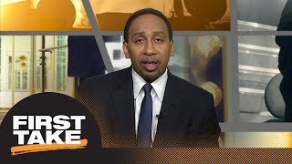 Stephen A. Smith: No way in hell LeBron James stays with Cavaliers next season | First Take | ESPN