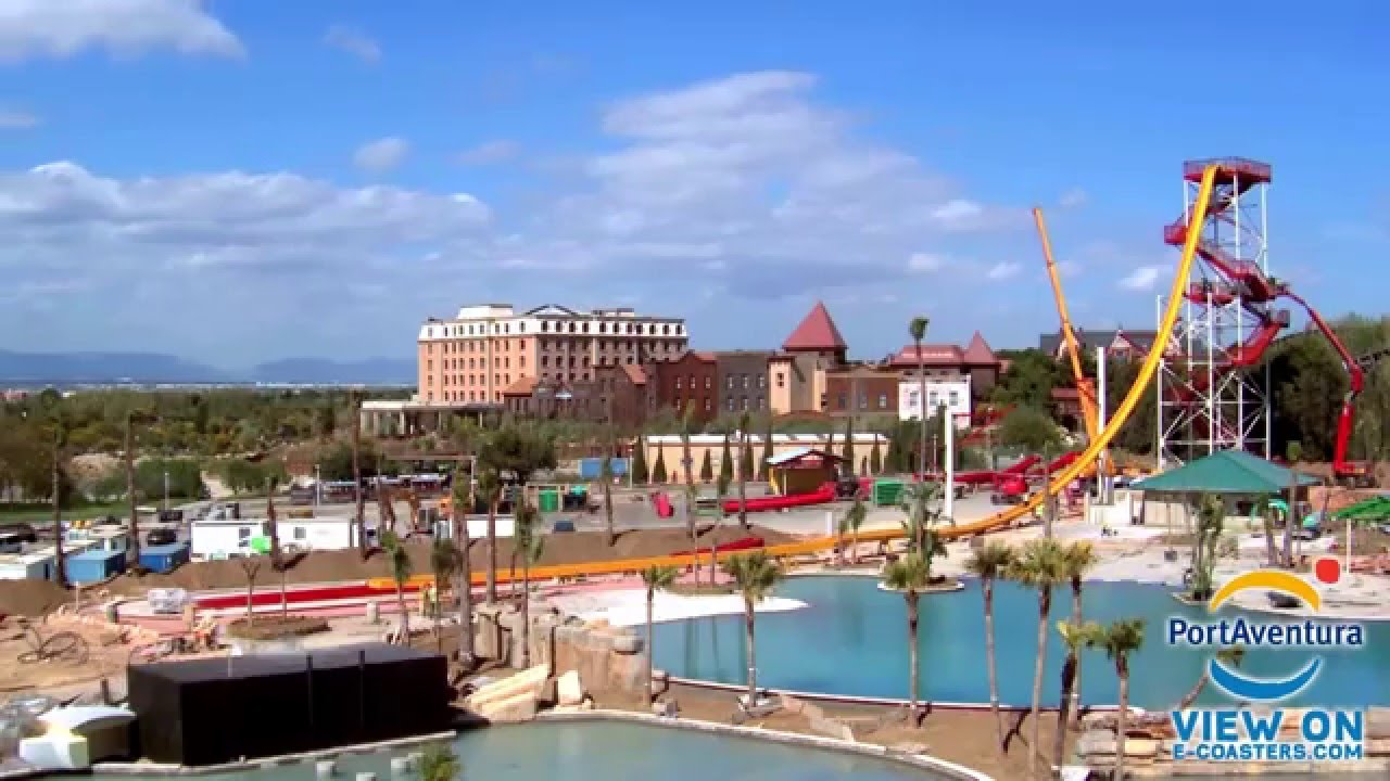port aventura costa caribe parc aquatique construction time lapse youtube. Black Bedroom Furniture Sets. Home Design Ideas