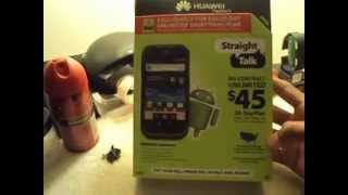 Huawei Ascend 2 From Straight Talk Review