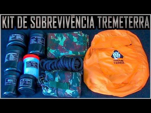 Kit de Sobrevivência com 80 Itens da TremeTerra