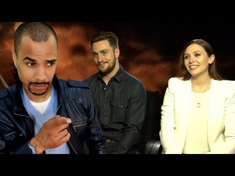 "PATZE TALKS: Elizabeth Olsen & Aaron Taylor-Johnson on ""GODZILLA"""