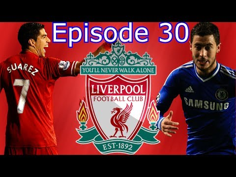 Liverpool Career Mode Episode 30 FIFA 14 NEXT GEN Mourinho calls Suarez a Diver & Salah a Done Deal?