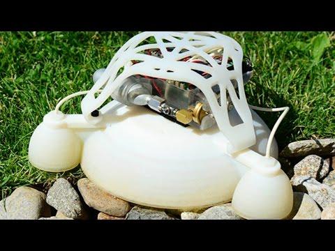 3D-Printed jumping Soft Robots from Harvard