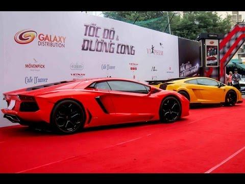 Dàn siêu xe trong bộ phim tốc độ đầu tiên của Việt Nam