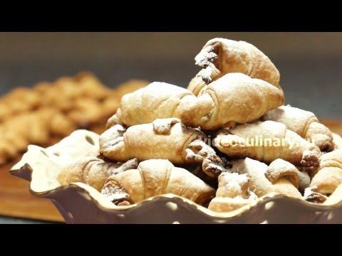 Рецепт - Ореховые рогалики  от http://videoculinary.ru Бабушка Эмма