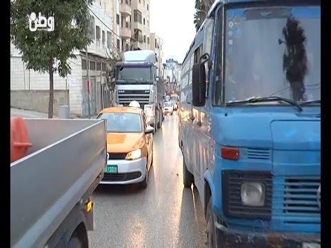 الأزمة المرورية في الخليل تهدر وقت المواطنين