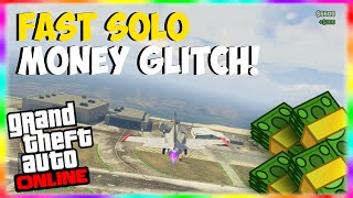 "GTA 5 Solo Money Glitch: FAST ""Solo Money Glitch"" 1.16"