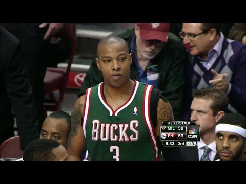 Caron Butler 38 Pts at 76ers 2013.11.22