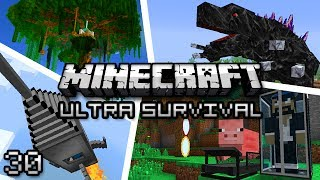Minecraft: Ultra Modded Survival Ep. 30 PUMP IT UP