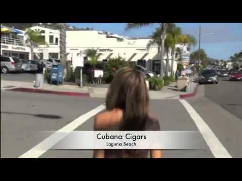 Cigar Vixen at Cubana Cigars in Laguna Beach Ca - Cigars San Clemente, Dana Point, Irvine