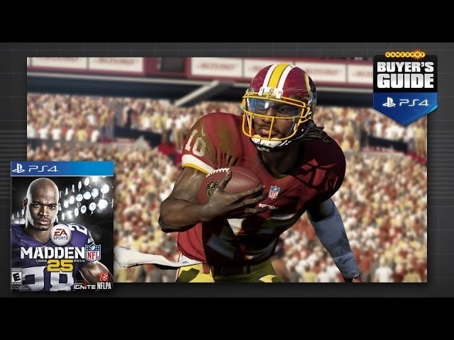 GameSpot's Buyer's Guide - Madden NFL 25