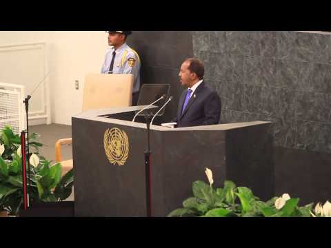 Speech of the President of Somalia at the UN General Assembly